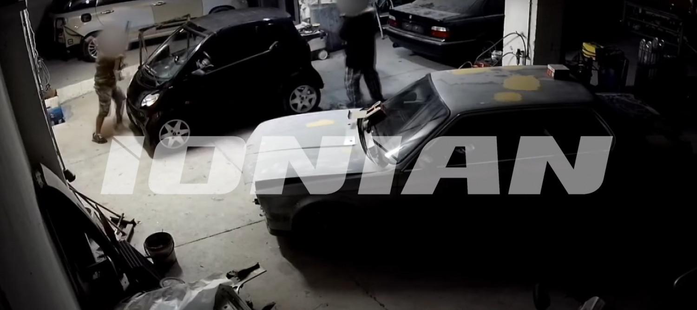 Σοκαριστικό βίντεο: Καρέ καρέ η δολοφονία του 41χρονου σε φανοποιείο στην Πάτρα