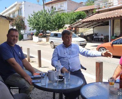 Επίσκεψη του Δημάρχου Γιώργου Αποστολάκη στον ΑΕΤΟ ΑΚΤΙΟΥ ΒΟΝΙΤΣΑΣ!