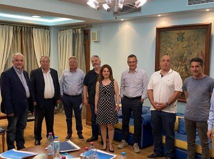 Στο Δημαρχείο Ξηρομέρου πραγματοποιήθηκε η συνάντηση των πέντε δημάρχων της Αιτωλοακαρνανίας.