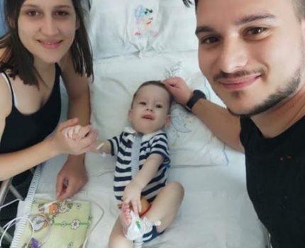 Ο Ηλίας-Στυλιανός σήμερα Πέμπτη 9-7-2020  έλαβε την γονιδιακή θεραπεία επί ελληνικού εδάφους.