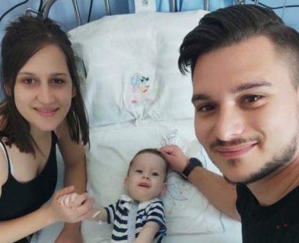 Ο μικρός Ηλίας-Στυλιανός έλαβε τη γονιδιακή θεραπεία! (φωτο)